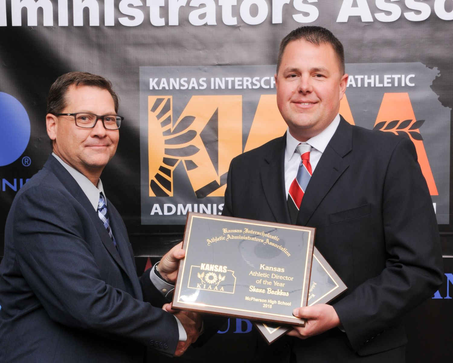 Shane Backhus - District 1 and AD of the Year